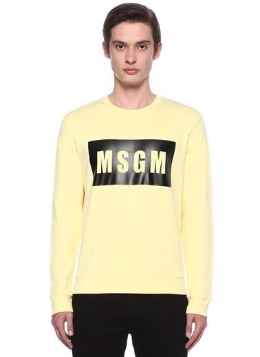 Msgm Sweatshirt Sarı